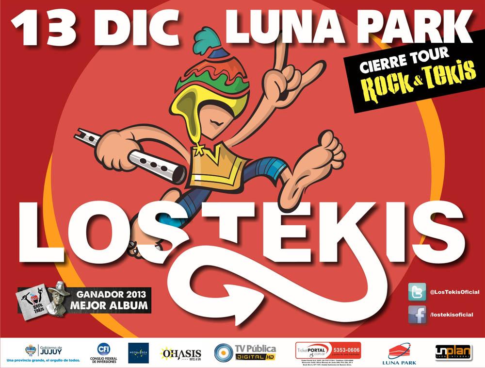 LOS TEKIS LUNA PARK 2013