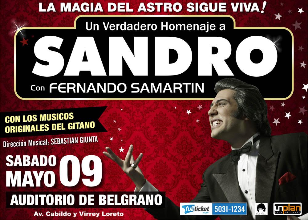 SANDRO AUDITORIO DE BELGRANO 2015