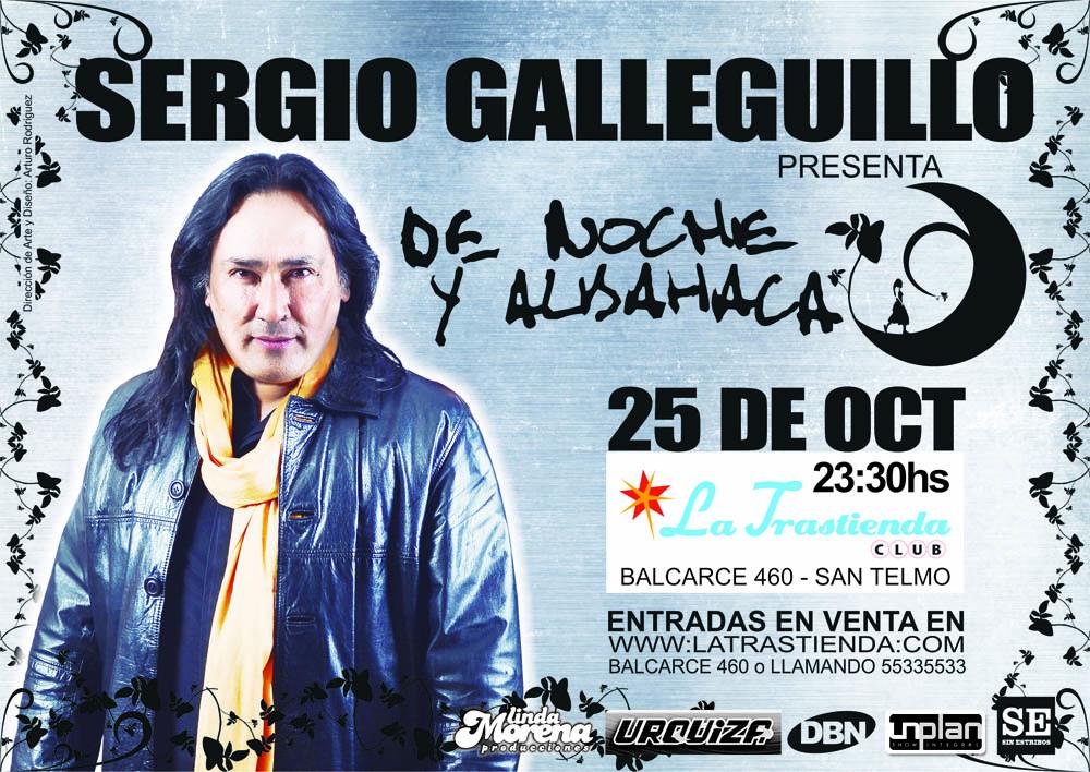 SERGIO GALLEGUILLO LA TRASTIENDA 2013